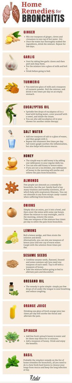 Simple and Natural Home Remedies for Bronchitis: