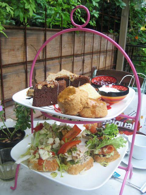 """High Tea @ Bar, Restaurant and Garden """"Het Heden"""", Den Haag (The Hague), The Netherlands http://www.hetheden.nl/"""