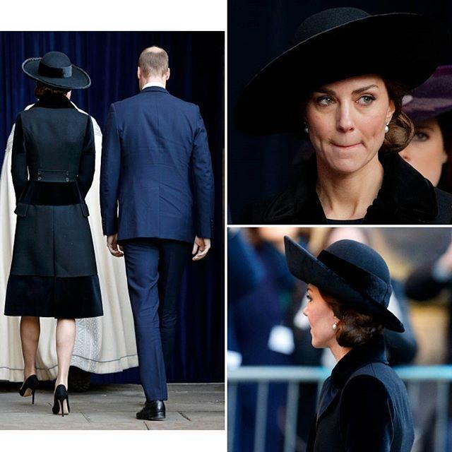 Kate Middleton e il principe William alla Chester Cathedral per il servizio commemorativo del Duca di Westminster il 28 novembre 2016 a Chester #KateMiddleton and #prince William at the memorial service of The Duke of Westminster at Chester Cathedral on November 28, 2016 in Chester
