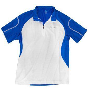 Odlo Herren Kurzarm Shirt Running Stand-Up Collar Short Sleeve 1/2 Zip Active: Amazon.de: Sport & Freizeit