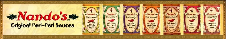 Nando's Peri-Peri Sauce, Extra-Extra Hot!  Yes, please!  My mouth is watering just thinking about this!!