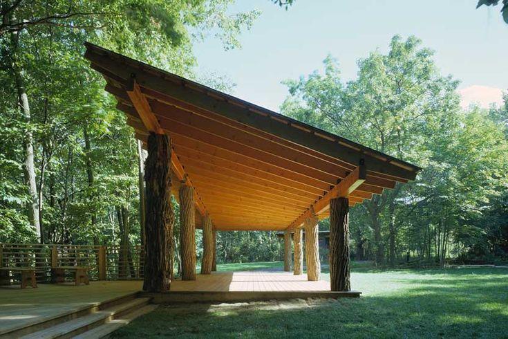 The Kubala Washatko Architects; Schlitz Audubon Nature Center Pavilion (New Construction); Bayside, Wisconsin, 2005.