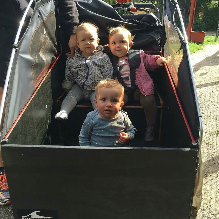 "The baby machine #together  By @alexfletchersen ""Christiania Bike power!"""