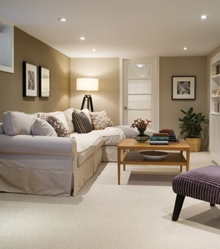 if we ever get to finish our basement it would make a perfect family room - Basement Designer