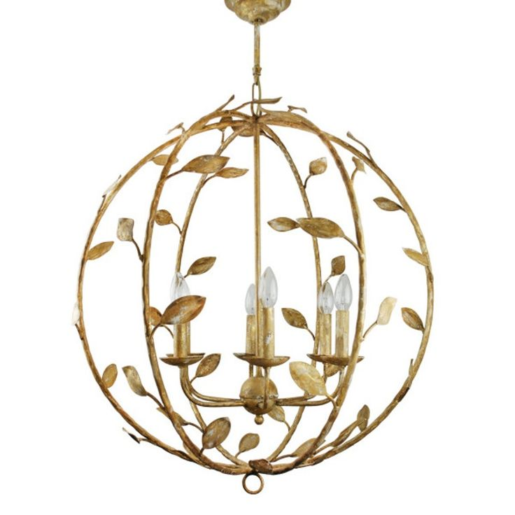 Best 25 traditional chandeliers ideas on pinterest traditional foliage metal chandelier aloadofball Image collections