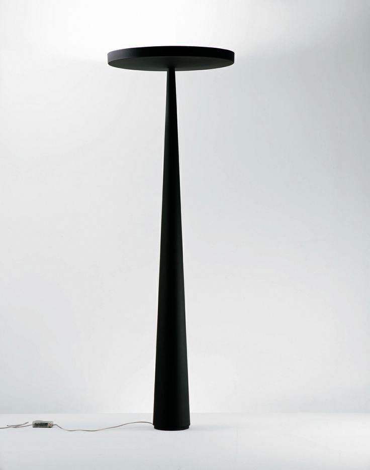 #Black #Equilibre floor lamp, design by Luc Ramael for #Prandina www.prandina.it