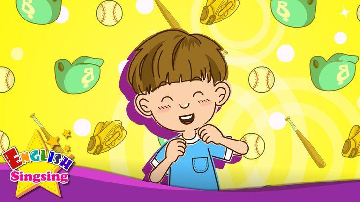 Мне нравится бейсбол. большой теннис. (Симпатия) - Английский песни для ...
