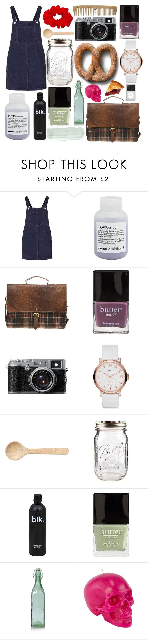"""""""smile, you're beautiful"""" by paper-towns ❤ liked on Polyvore featuring Topshop, Davines, ASOS, Butter London, John Lewis, Marc Jacobs, HAY, H2O+ and D.L. & Co."""