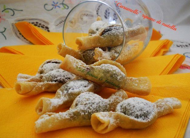 caramelle di nutella di Miele farina & fantasia