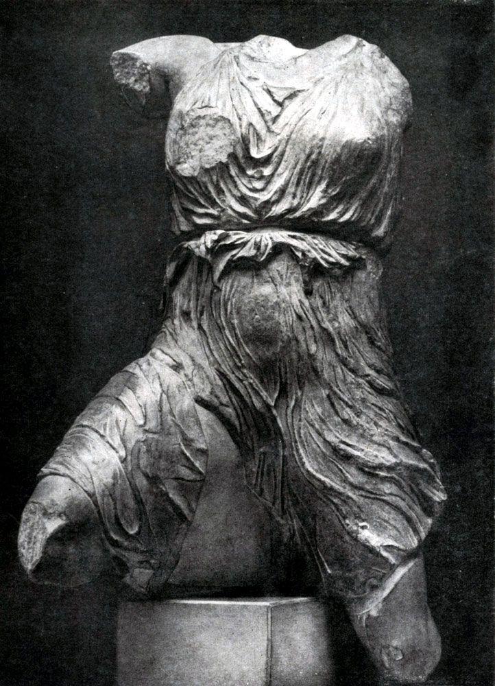 Фидий и его ученики. Ирида с западного фронтона Парфенона