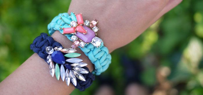 DIY: maak een super leuke paracord armband!