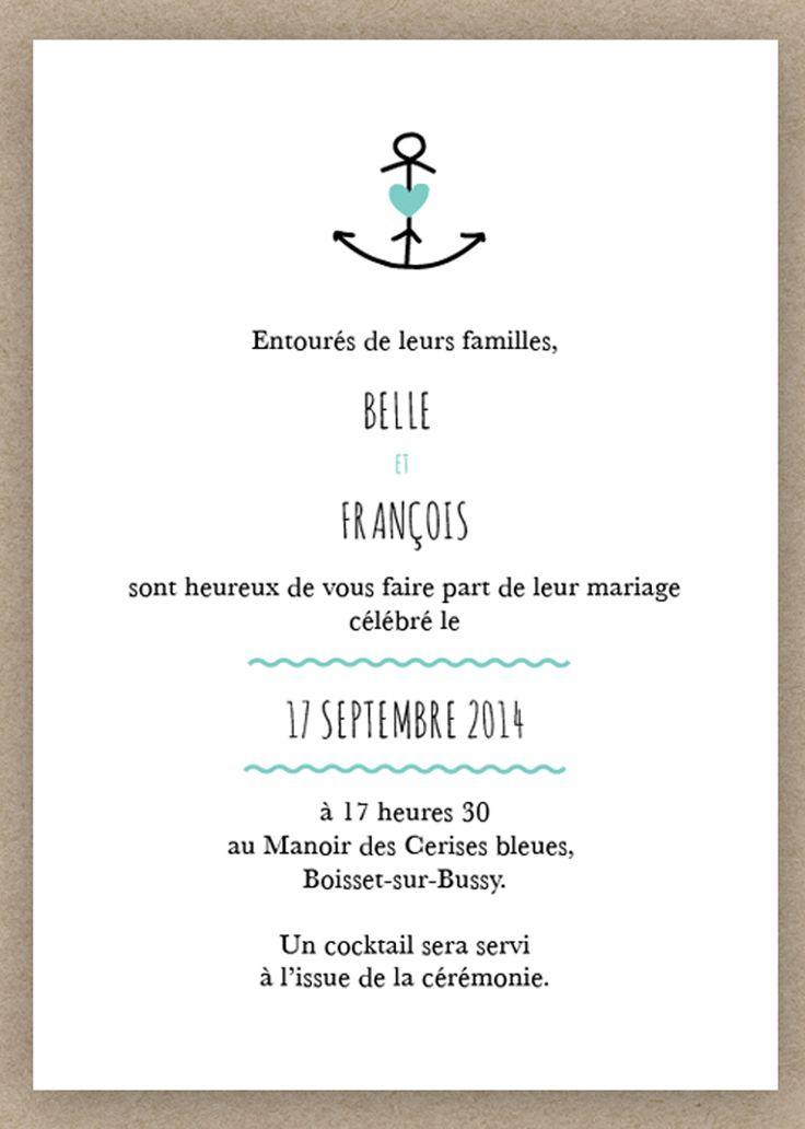 In den Hafen der Ehe segeln – simpel und schön illustriert.