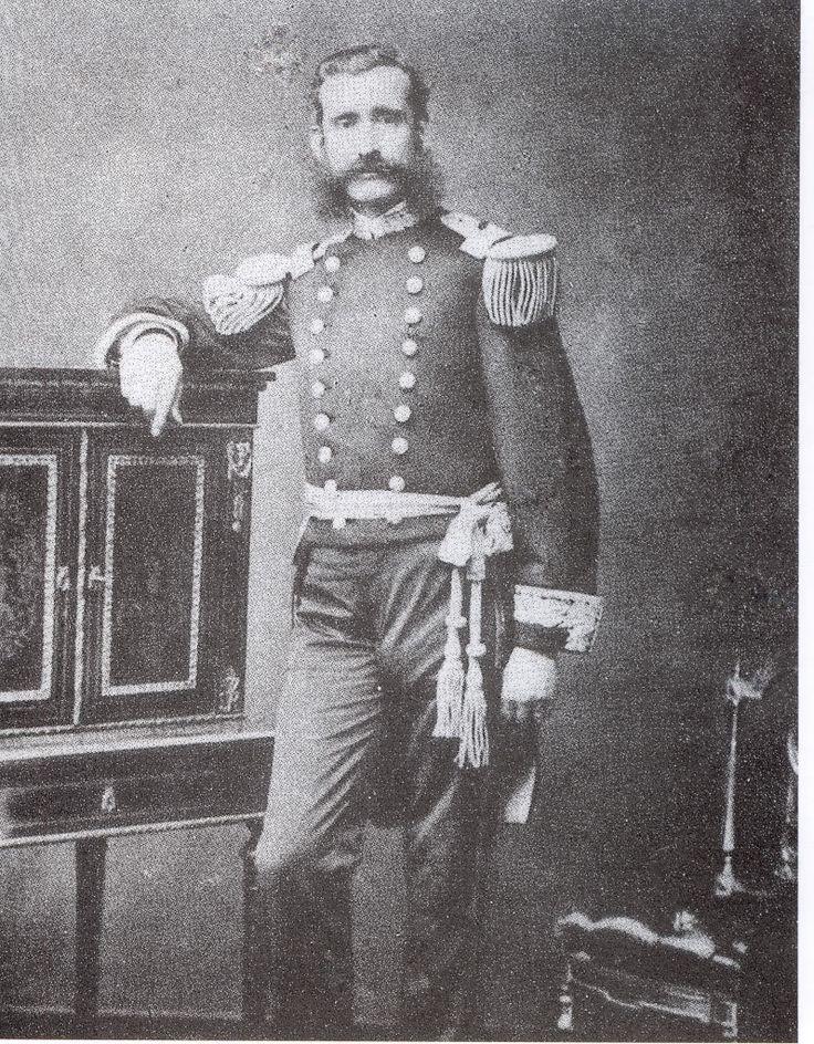ALMIRANTE LIZARDO MONTERO FLORES, Comandante del Ejercito en Tacna y Arica. Mando en el Alto de la Alianza (tacna) el 1º Ejercito del Sur, Fue Presidente del Peru en reemplazo de Calderon y resistio