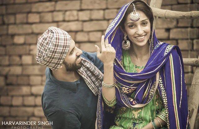 Harvarinder Singh Photography Punjabi Pre Wedding #pindshoot