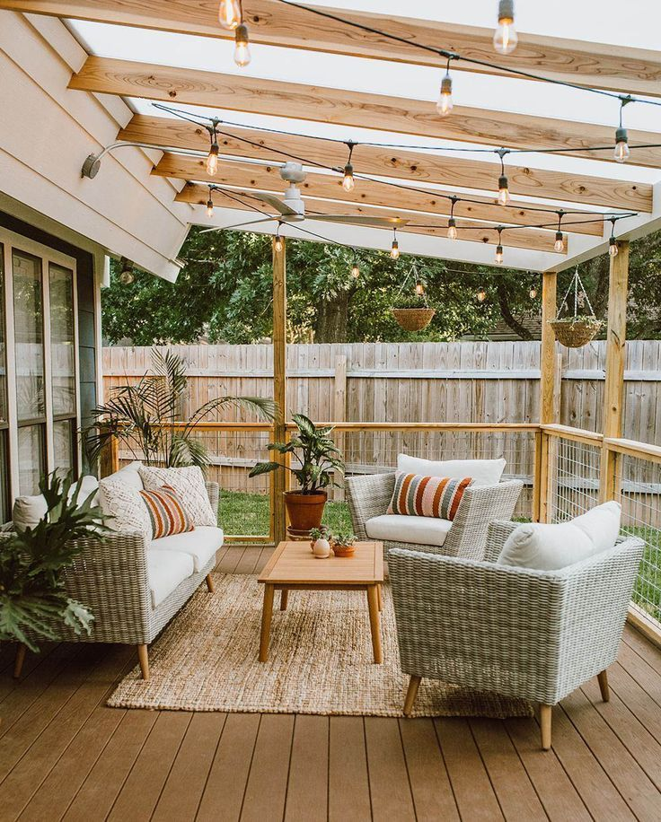 Wonderful Backyard Deck Ideas For Small Yards For Your Cozy Home Outdoor Patio Designs Small Patio Design Cheap Backyard Makeover Ideas
