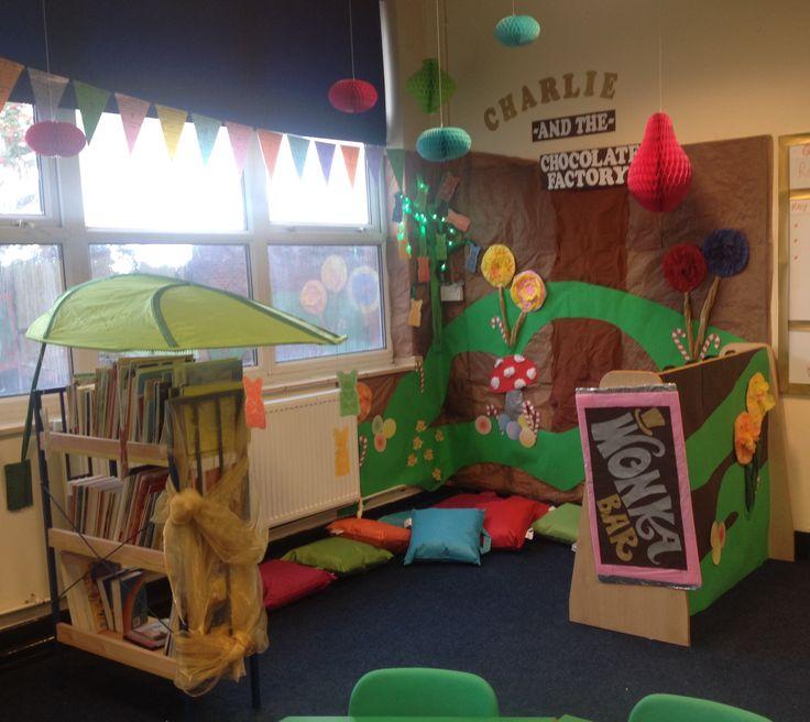 #willywonka #classroom #year2 #library #readingarea