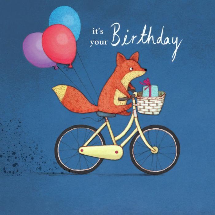 Открытки с лисами день рождения, для открыток