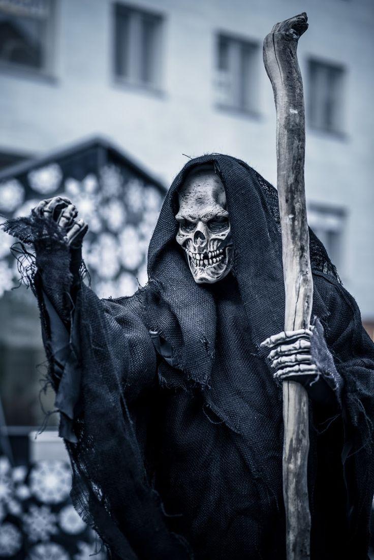 Grim Reaper costume at Zombie Walk Oulu, Finland 2014
