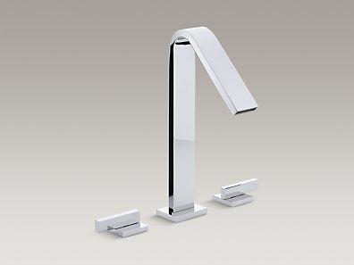 KOHLER | K-15285-4-CP | Loure® Deck-mount bath faucet