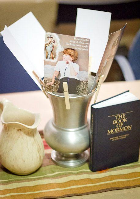 Book of Mormon Baptism Dinner