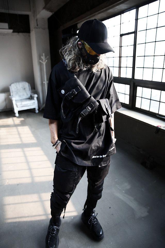 Inwon Lee Byther Techwear Sling Bag Byther Techwear