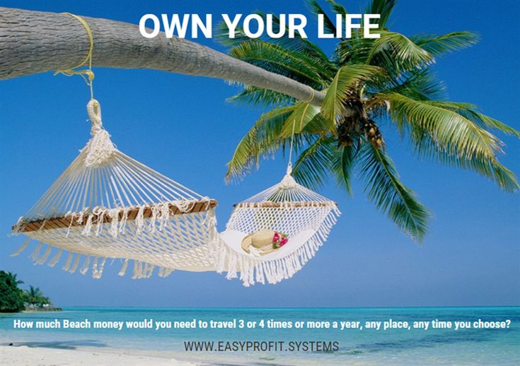 How much Beach Money would you need to travel 3 or 4 times or more a year, any place, any time you choose?