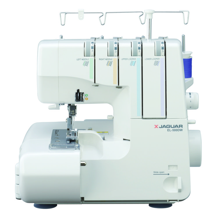 ロックミシン EL-500DW|画像をクリックすると製品詳細をご覧いただけます◎  Overlock Sewing Machine EL-500DW|Click image for product details◎ #JAGUAR #sewingmachine #overlock