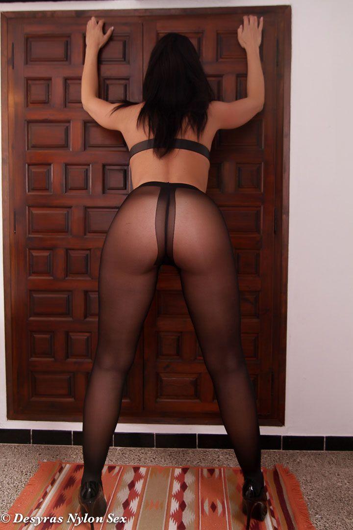 Ac black pantyhose - 3 part 1
