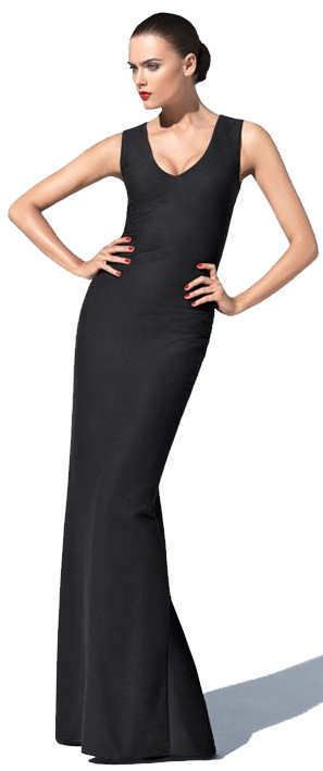 5732f37e5ff26 WOLFORD $1325 NWT Rare Long Black Ottoman Textured Maxi Gown Dress 59606  Size 34 #Wolford #BodyconDressBallGown #Formal