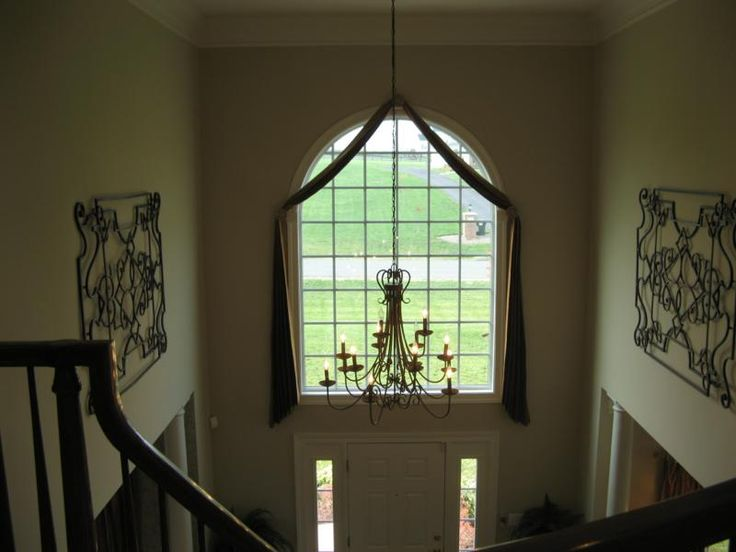 Story Foyer Window Treatments : Two story foyer curtain ideas pinterest