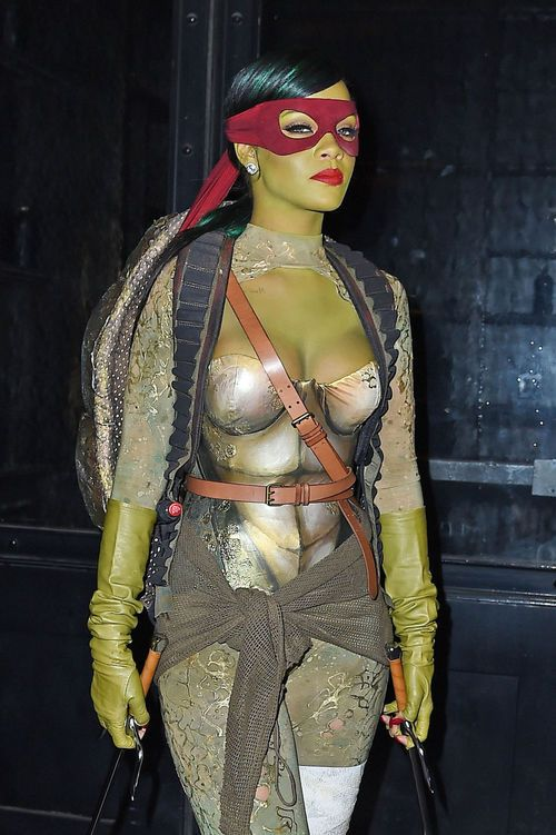 Halloween, costume, and rihanna image