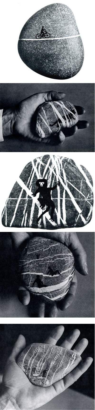 Bruno Munari (né le 24 octobre 1907 à Milan et mort dans la même ville le 30 septembre 1998) est un artiste plasticien italien contemporain. Peintre, sculpteur, dessinateur, designer, il est également auteur et illustrateur de livres pour enfants.
