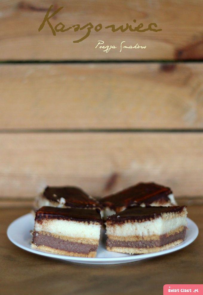 Ciasto na bazie kaszy manny - kaszowiec (bez pieczenia)