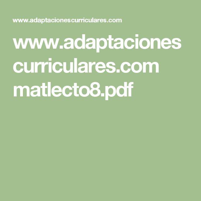 www.adaptacionescurriculares.com matlecto8.pdf