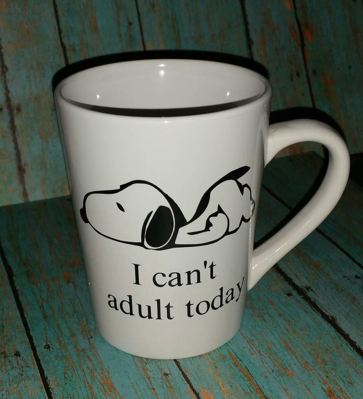 snoopy mug,coffee cup, i can't adult today, snoopy, i can't adult today mug,/coffee mug/adulting mug/mom mug/birthday gift by Letterstogomonogram on Etsy