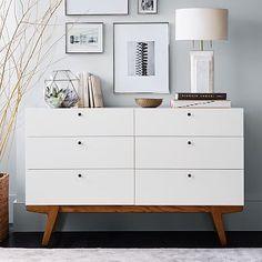 Modern 6-Drawer Dresser #westelm