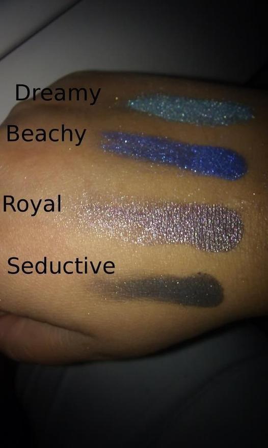 Dreamy (6524), Beachy (6529), Royal (6518), Seductive (6512) http://eyeslipsface.nl/product-beauty/oogschaduw