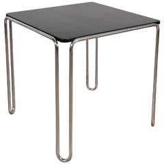 Bauhaus Table Model B10 by Marcel Breuer, circa 1935