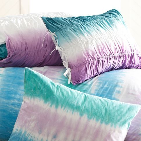images of izzy s new bedroom surf dip dye ruched duvet cover sham pbteen wallpaper