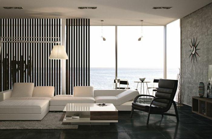 Muster Schwarz-Weiß wandgestaltung mit Farbe wandgestaltung schwarz