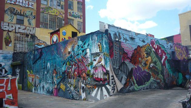 Grafiti 5Pointz new york #turismo #viajes