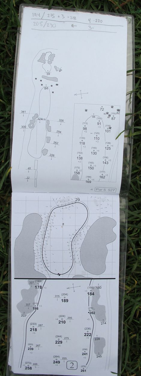 A look inside Dustin Johnson's Pebble Beach yardage book check out more here: http://www.golfdigest.com/golf-tours-news/blogs/local-knowledge/2014/02/a-look-inside-dustin-johnsons-pebble-beach-yardage-book.html http://thedailygolfer.org/golfgamechanger/