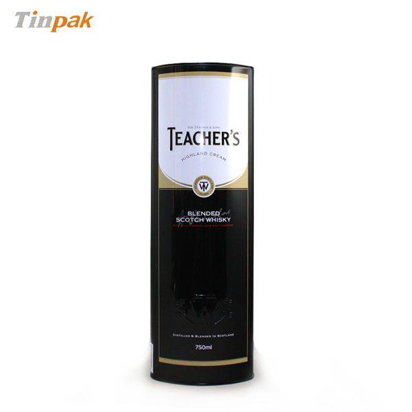 superior wine tin box