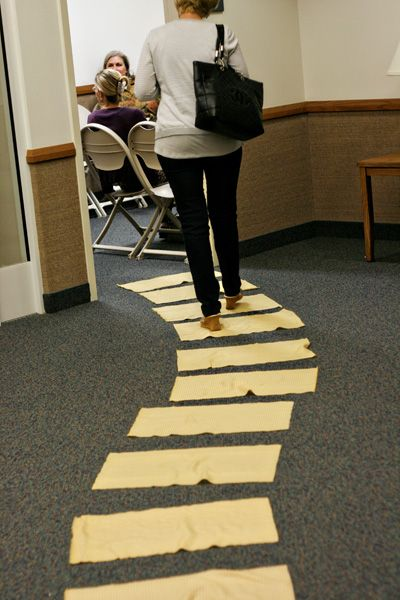 Follow the Yellow Brick Road Visiting Teaching conference