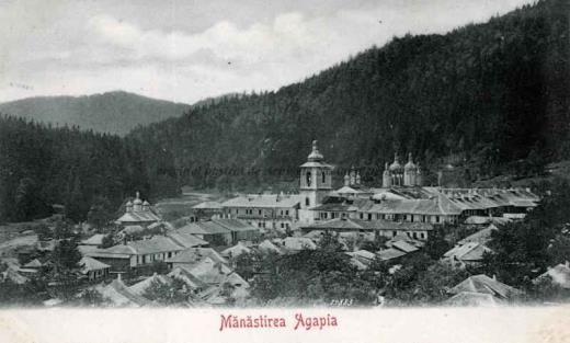 BU-F-01073-5-00157 Mănăstirea Agapia, s. d. (sine dato) (niv.Document)