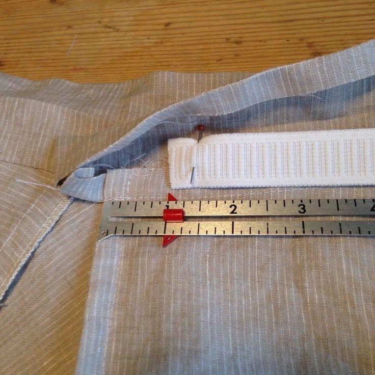 Как вшить резинку в пояс (Шитье и крой) | Журнал Вдохновение Рукодельницы
