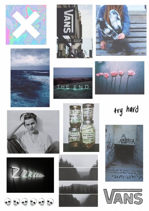 #grunge #tumblr #collage | collages | Pinterest | Collage ...