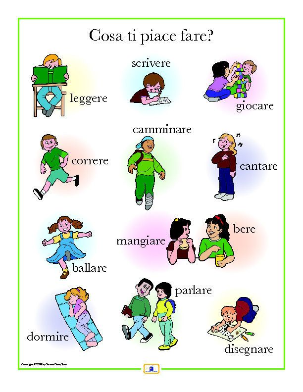 Introduce activity words with this colorful 18 x 24 in. poster that: - includes a free guide with teaching suggestions and practice worksheets - is sent flat (except international orders)