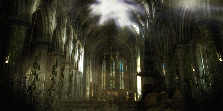 Cathederal Ruin by paddy852.deviantart.com on @deviantART