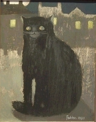 Black Cat. Mary Fedden